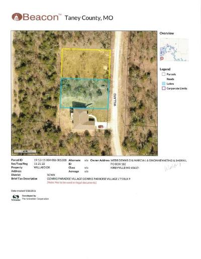 Ridgedale Residential Lots & Land For Sale: Lt5, Blk 9 Willard Dr