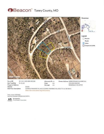 Ridgedale Residential Lots & Land For Sale: 4, 5, 181-6 Dogwood Dr.