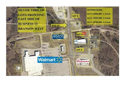 Branson West MO Commercial For Sale: $435,000