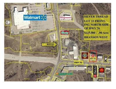 Branson West MO Commercial For Sale: $225,000