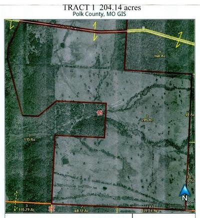 Bolivar Farm For Sale: Tbd Tract 1 325th Road