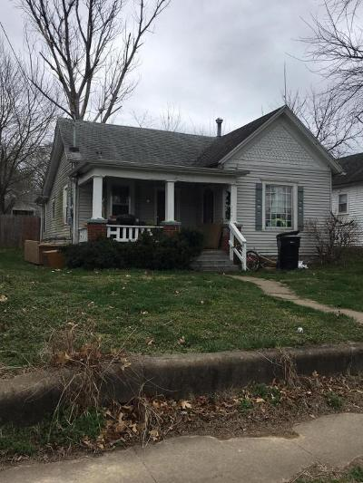 Springfield MO Single Family Home For Sale: $29,900