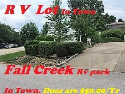 Fall Creek Condos, Fall Creek Log Cabin Estates, Fall Creek Resort, Fall Creek RV Estates Residential Lots & Land For Sale: 212 Blue Bird Lane