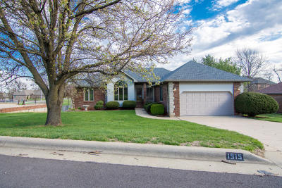 Nixa Single Family Home For Sale: 1915 Winged Foot Drive
