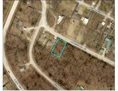 Merriam Woods Residential Lots & Land For Sale: Lot 3 Cedarwood Dr