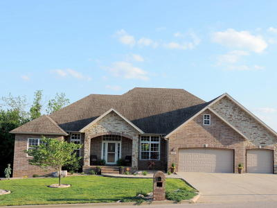 Nixa Single Family Home For Sale: 1058 East Daisy Falls Drive