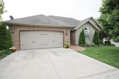 Nixa MO Single Family Home For Sale: $284,900
