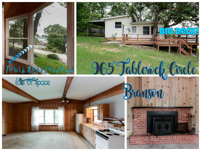 Branson Single Family Home For Sale: 965 Tablerock Circle