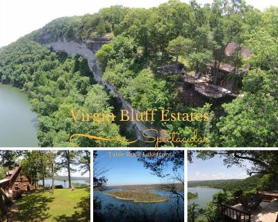 Cape Fair, Crane, Galena, Shell Knob, Cedar Creek, Walnut Shade, Blue Eye, Branson West, Indian Point, Kimberling City, Lampe, Reeds Spring, Ridgedale, Hollister, Merriam Woods, Rockaway Beach, Taneyville Residential Lots & Land For Sale: 30.1 M/L Virgin Bluff Estates