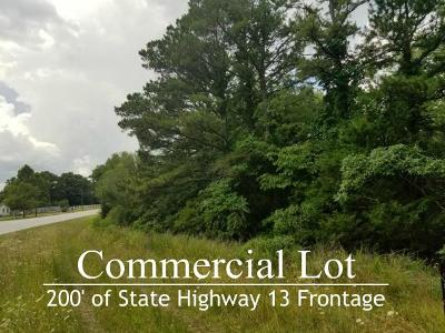Stone County Commercial For Sale: Tbd State Hwy 13