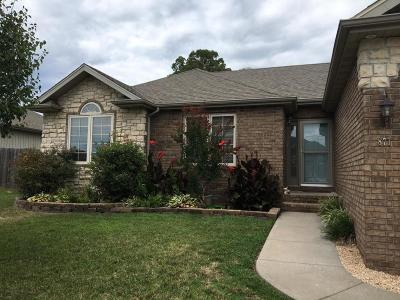 Nixa MO Single Family Home For Sale: $157,500