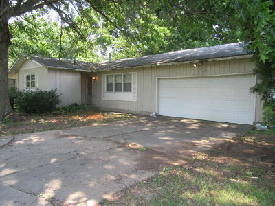 Springfield MO Single Family Home For Sale: $70,000