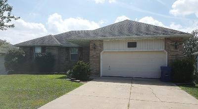 Nixa Single Family Home For Sale: 1222 Butterfield Drive