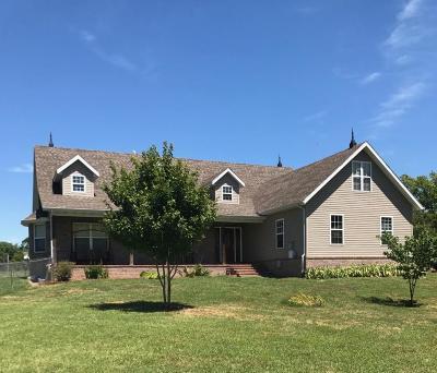 Nixa Single Family Home Active w/Contingency: 1739 West Tracker Road