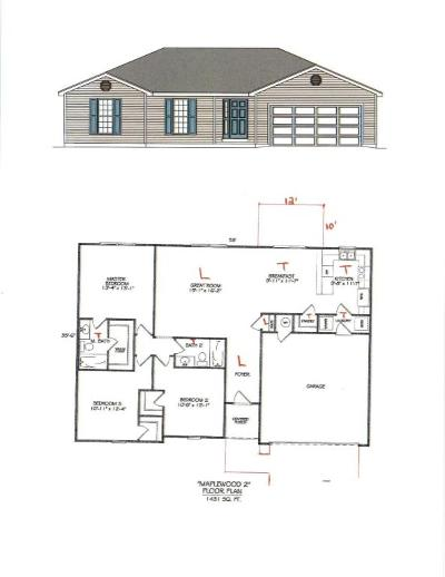 Reeds Spring Single Family Home For Sale: Lot 4 Rainbow Hills