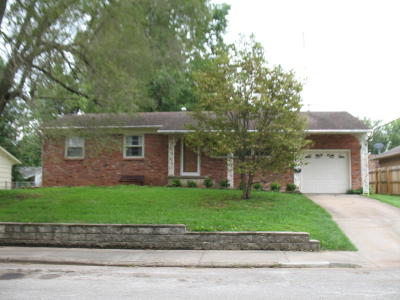 Springfield Single Family Home For Sale: 502 East Edgewood Street
