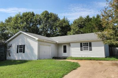 Kirbyville Single Family Home For Sale: 172 Eric Drive