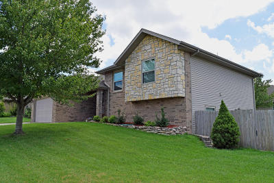 Nixa MO Single Family Home For Sale: $214,900