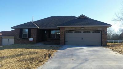 Nixa MO Single Family Home For Sale: $149,900