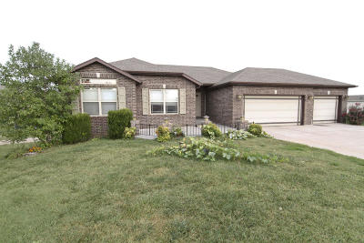 Nixa Single Family Home For Sale: 1124 West Westwood Court