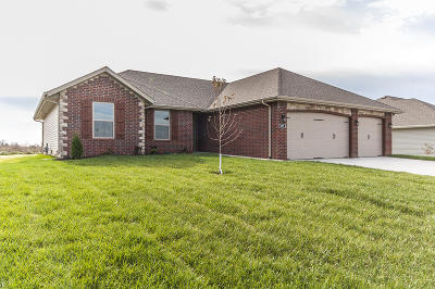Rogersville Single Family Home For Sale: 998 Democracy Drive #Lot 6 Ph