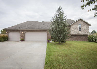 Nixa MO Single Family Home For Sale: $279,900
