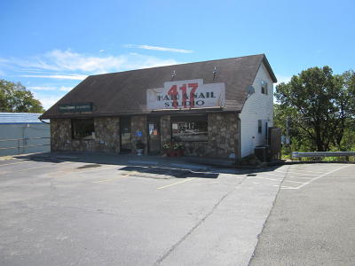 Branson West Commercial For Sale: 10864 Mo St. Hwy 76