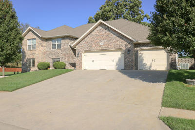 Nixa Single Family Home For Sale: 851 East Country Ridge Street