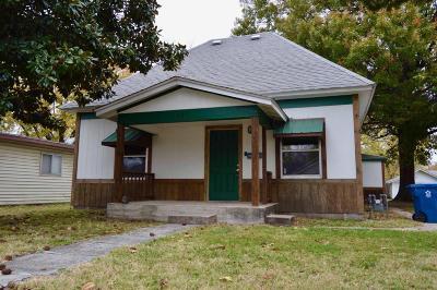 Joplin Single Family Home For Sale: 1407 West 9th Street
