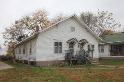 Springfield MO Single Family Home For Sale: $47,500