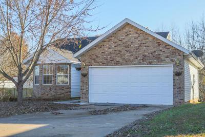 Nixa MO Single Family Home For Sale: $170,000