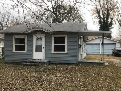Springfield MO Single Family Home For Sale: $39,900
