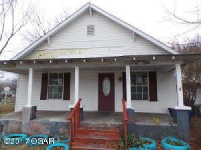 Joplin Single Family Home For Sale: 1405 Kentucky