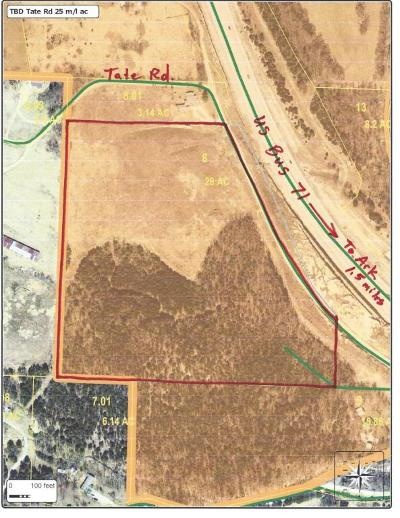 Residential Lots & Land For Sale: Tbd Tate Road