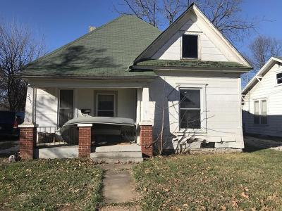 Springfield MO Single Family Home For Sale: $27,000