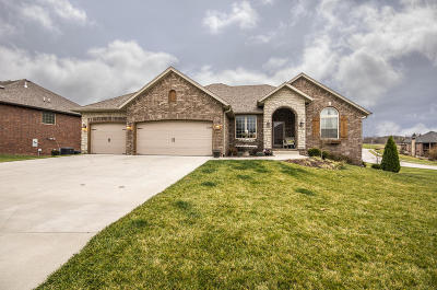 Nixa Single Family Home For Sale: 1260 South Rosemoor Drive