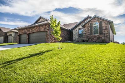 Nixa Single Family Home For Sale: 1667 North Eagle Valley Lane #Lot 24