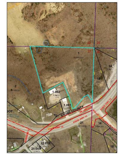 Stone County Commercial For Sale: Jim Linegar Ln