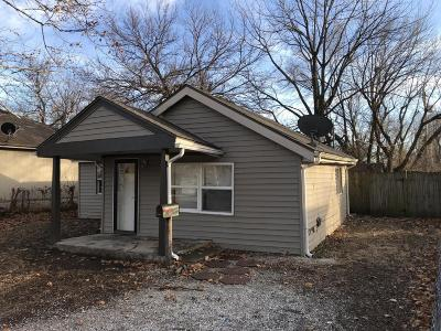 Springfield Single Family Home For Sale: 2510 West Madison Street