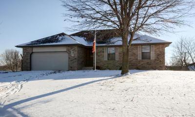Nixa MO Single Family Home For Sale: $219,900