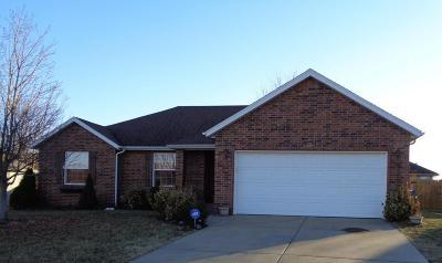 Nixa MO Single Family Home For Sale: $153,000
