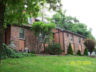 Springfield Single Family Home For Sale: 5851 South Lakeshore Drive