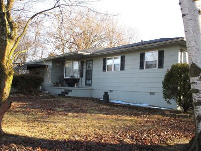 Nixa MO Single Family Home For Sale: $125,000