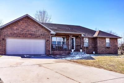 Nixa MO Single Family Home For Sale: $145,000