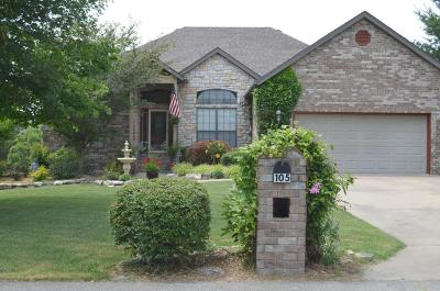 Branson West Single Family Home For Sale: 105 Cabana Court