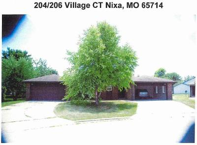 Nixa Multi Family Home For Sale: 204 Village Court
