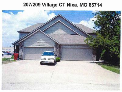 Nixa Multi Family Home For Sale: 207 Village Court