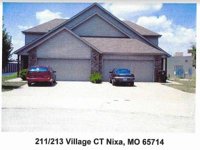 Nixa Multi Family Home For Sale: 211 Village Court