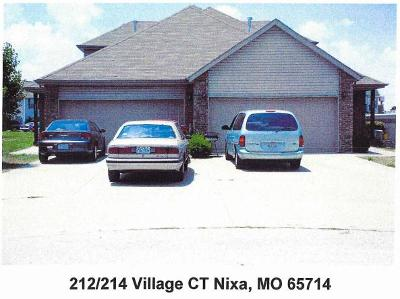 Nixa Multi Family Home For Sale: 212 Village Court