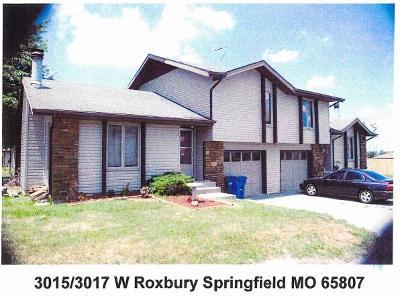 Springfield Multi Family Home For Sale: 3015 West Roxbury Street